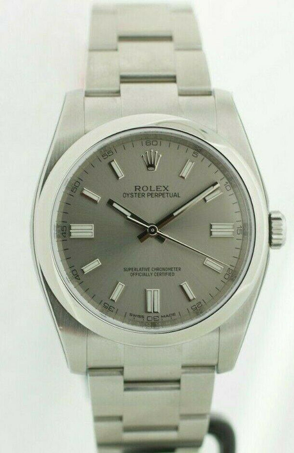 Rolex 116000 Stainless Steel Silver Dial Automatic Men's Watch w/B/Card