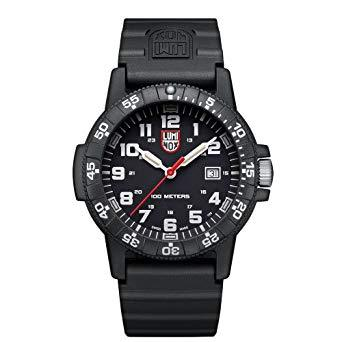 Luminox XS.0321.L Sea Turtle 44mm Black/White Dial Black Rubber Band Mens Watch