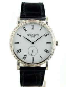 NEW! Patek Philippe Calatrava 5119G 18k White Gold Hand Wind 36mm Men's Watch