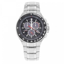 dbbc2f253 Citizen Eco Drive BL5334-55E Chronograph Black Dial Stainless Steel Me –  Sarasota Watch Company