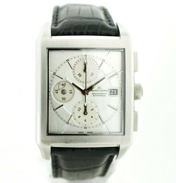 Maurice Lacroix PT6187/97 Pontos Chronograph Steel Swiss Automatic Men's Watch