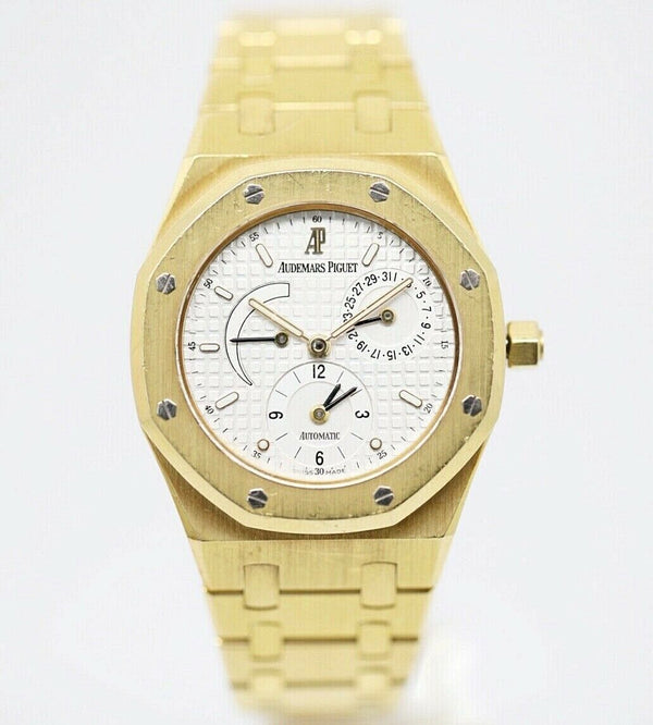 Audemars Piguet Royal Oak N.621 Dual Time 18KYG 37mm Automatic Wrist Watch