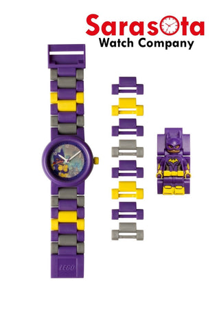LEGO® 8020844 Batman Movie Batgirl Minifigure Link Kid's Watch Age 6+ 24PCS