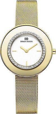 Danish Design IV05/IV67Q998 Stainless Steel W/Cubic Zirconia Women's Watch
