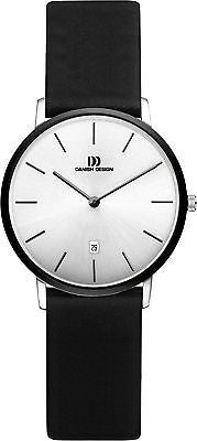 Danish Design IV14/IV15Q1030 Stainless Steel Leather Band Women's Watches