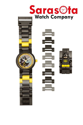 LEGO® 8020837 Batman Movie Batman Minifigure Link Kid's Watch Age 6+ 24PCS