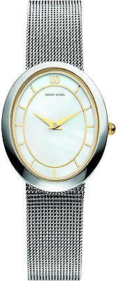 Danish Design IV65Q995 Mother Of Pearl Dial SS Mesh Strap Women's Watch