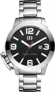 Danish Design IQ62/63/64Q915 Oversized Stainless Steel Sport Men's Watch