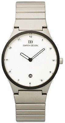 Danish Design IV62/IV63Q884 Stainless Steel Date Sapphire Crystal Women's Watch