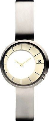 Danish Design IV65Q931 Titanium Case Titanium Bracelet Two Tone Women's Watch