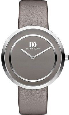 Danish Design IV14Q1064 Stainless Steel Case Leather Band Women's Watch