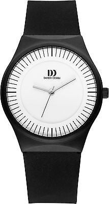 Danish Design IQ12/IQ13Q1004 Stainless Steel Case Rubber Strap Unisex Watch