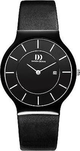 Danish Design IQ12/IQ13/IQ14Q964 Ceramic Case Leather Men's Watches