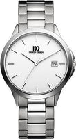 Danish Design IQ62/IQ65Q966 Titanium Band Silver Dial Date 5 ATM Men's Watches