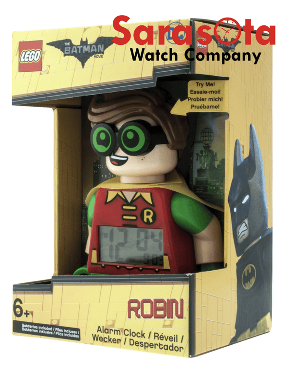 LEGO® Batman Movie Robin Minifigure Clock 9009358