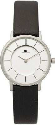 Danish Design IV12Q789 Classic Elegant Leather SS Dress Women's Watch
