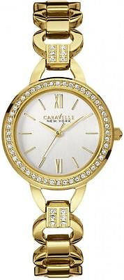 Caravelle New York 44L162 Gold Tone Stainless Steel Analog Fashion Women's Watch
