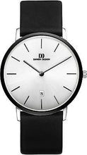 Load image into Gallery viewer, Danish Design IQ13/IQ14/IQ15Q1030 Stainless Steel Leather Band Men's Watches