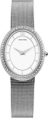Danish Design IV72/IV75Q995 Stainless Steel With Cubic Zirconia Women's Watch