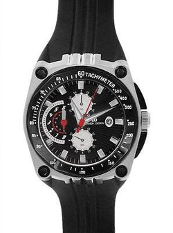 Danish Design IQ13Q739 Stainless Steel Chronograph Rubber Sport Men's Watch