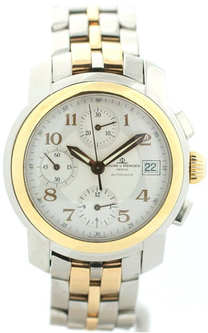 Baume&Mercier Capeland MV045217 Chronograph 18K/Steel Automatic Men's Watch