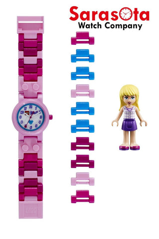 LEGO® 8020172 Friends Stephanie Minifigure Link Kid's Watch Age 6+ 29PCS