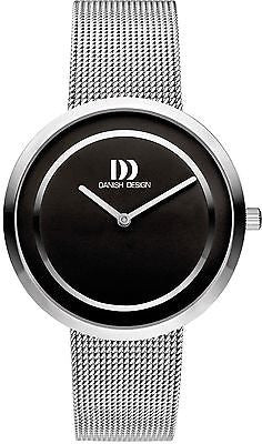 Danish Design IV63Q1064 Stainless Steel Case Black Dial Women's Watch