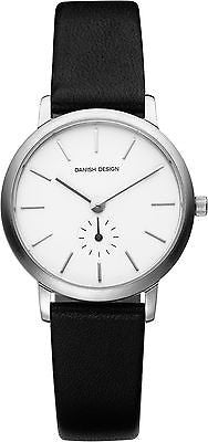 Danish Design IV12Q930 Stainless Steel Leather Women's Watch