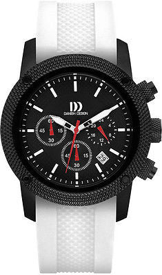 Danish Design IQ12/13/22/24Q1020 Colors Rubber Straps Chronograph Men's Watch