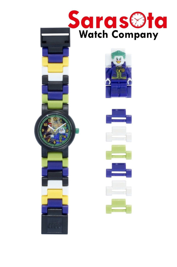 LEGO® 8020240 DC Comics Super Heroes The Joker Minifigure Link Kid's Watch