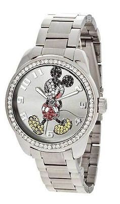 Disney Ingersoll IND26166 Classic Time Mickey Diamante Analog Women's Watch