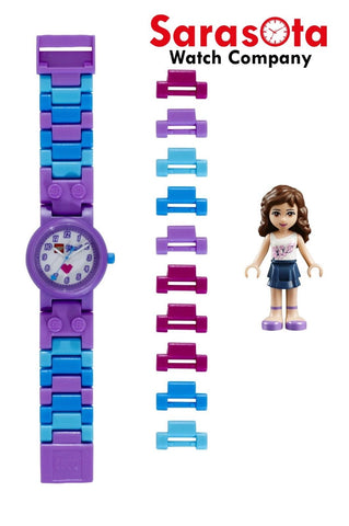 LEGO® 8020165 Friends Olivia Minifigure Link Kid's Watch Age 6+ 29PCS