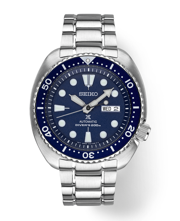 Seiko SRP773 Prospex Stainless Steel Blue Dial 45mm Diver Automatic Wrist Watch