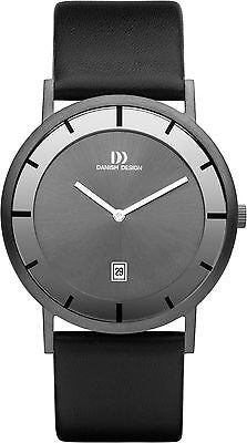 Danish Design IV12/IV13/IV16Q1011 Stainless Steel Leather Strap Women's Watch