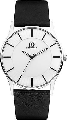 Danish Design IQ12/IQ13Q1006 Stainless Steel Leather Band  Men's Watches