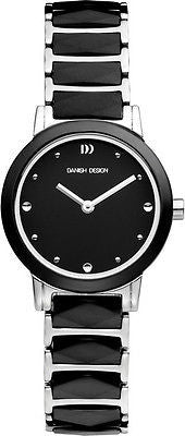 Danish Design IV62/IV63Q946 Ceramic Stainless Steel Sapphire Dress Women's Watch