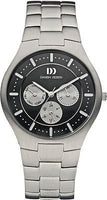 Danish Design IQ62/IQ63Q952 Titanium Day and Date Men's Watch