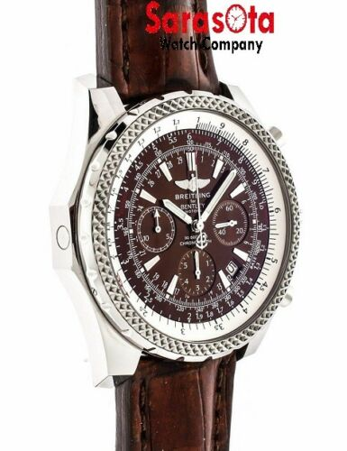 Breilting A2536212 Bentley Motors 48mm Chronograph Brown Dial Stainless Steel
