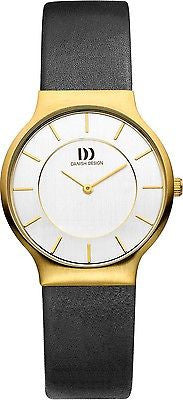 Danish Design IV11/IV12/IV13Q732 Stainless Steel Case Leather Band Women's Watch