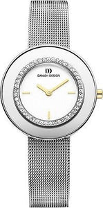 Danish Design IV62/IV63/IV65Q998 Stainless Steel W/Cubic Zirconia Women's Watch