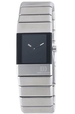 Danish Design IV63Q767 Stainless Steel Black Dial Women's Dress Watch