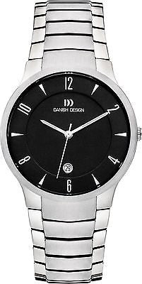 Danish Design IQ63/IQ64Q1018 Titanium 5 ATM Date Clean Cut Men's Watch