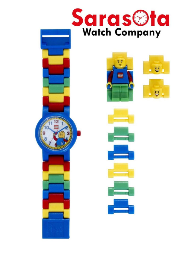 LEGO® 8020189 Classic Minifigure Link Kid's Watch Age 6+ 26PCS