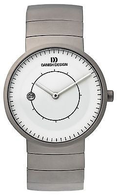 Danish Design IQ62/IQ64Q830 Titanium Case & Strap Men's Watch By Lars Pedersen