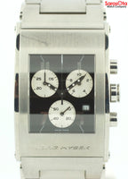 Jorg Hysek K102.0635 Chronograph Stainless Steel Quartz Rectangle Men's Watch