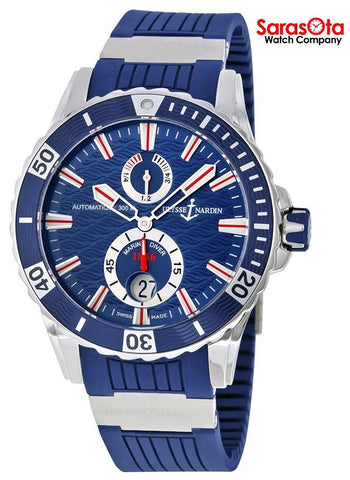 Ulysse Nardin Maxi Marine 263-10-3-93 Blue Dial Power Reserve Automatic Men's Watch