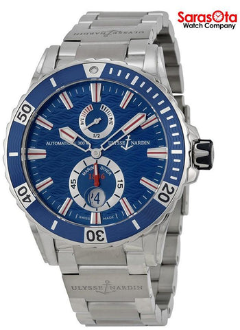 Ulysse Nardin Maxi Marine 263-10-7M-93 Stainless Steel Automatic Men's Watch