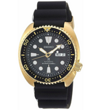 Seiko Prospex SRPC44 Gold Tone 45mm Diver 200M Rubber Automatic Men's Watch - Sarasota Watch Company