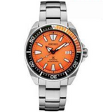 Seiko Prospex SRPC07 Stainless Steel ORANGE 200M Diver Automatic Men's Watch - Sarasota Watch Company
