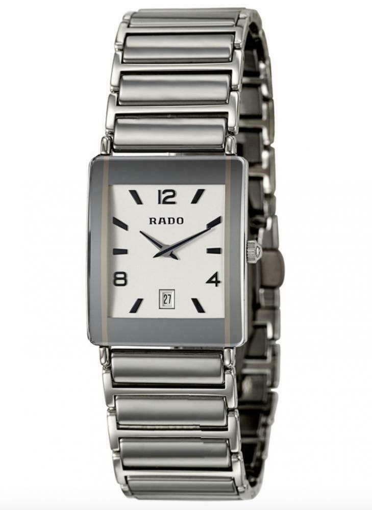 Rado Integral Jubile R20486112 Steel Ceramic White Dial Quartz Ladies Watch - Sarasota Watch Company